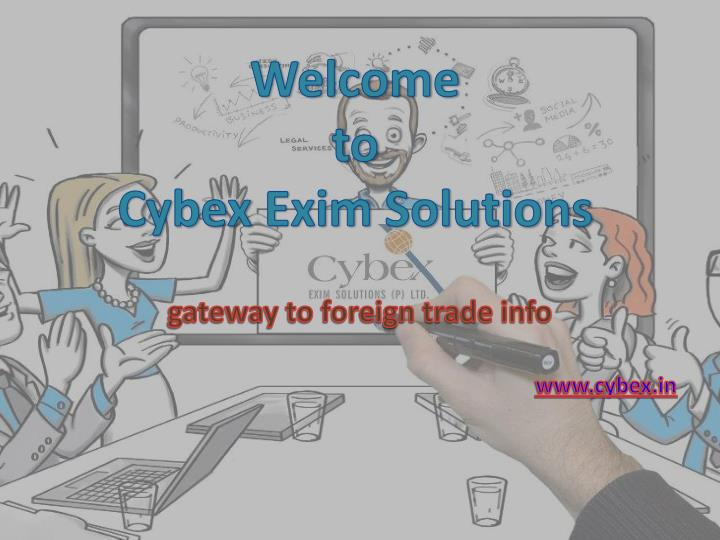 gateway to foreign trade info www cybex in n.