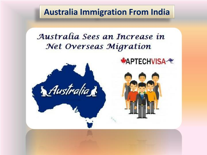 australia immigration from india n.