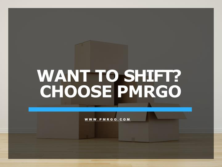 want to shift choose pmrgo n.