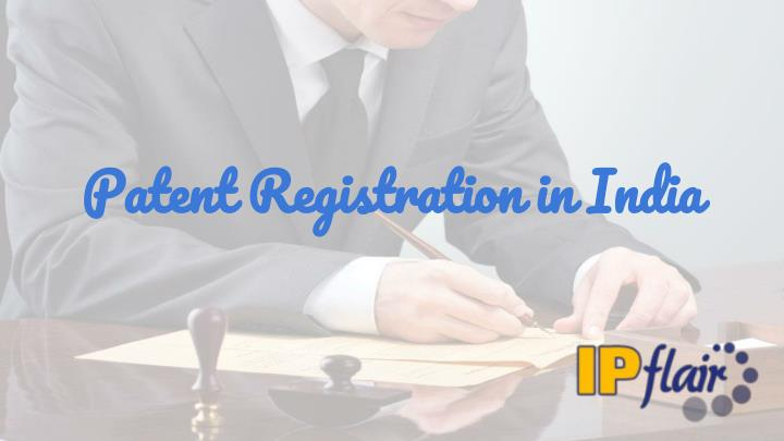 patent registration in india n.