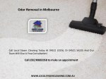 odor removal in melbourne 1
