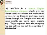 iq infotech is a search engine optimization
