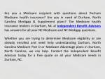 are you a medicare recipient with questions about
