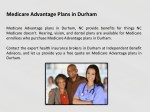 medicare advantage plans in durham