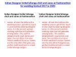 indian designer bridal lehenga choli and saree at fashionothon for wedding festival 2017 to 2020 4