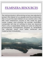 filminera resources