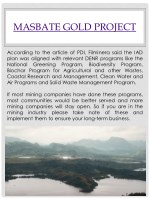 masbate gold project 1