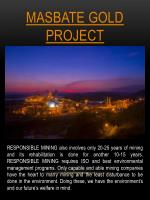 masbate gold project