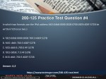 200 125 practice test question 4