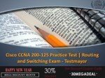 cisco ccna 200 125 practice test routing