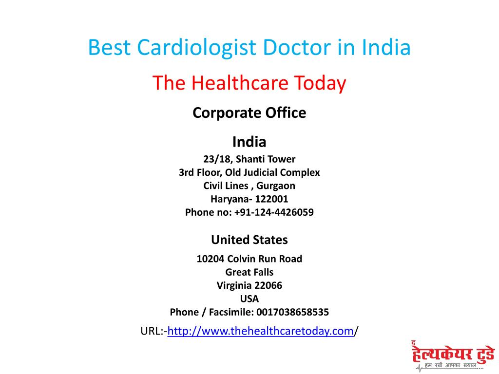 PPT - Best Cardiologist Doctor in India PowerPoint Presentation - ID