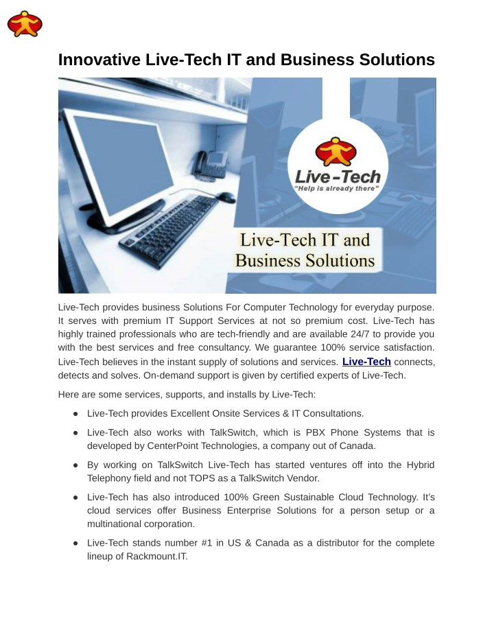 innovative live tech it and business solutions n.