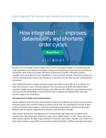 how integrated edi improves data visibility
