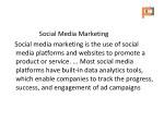 social media marketing social media marketing