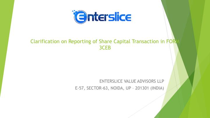 clarification on reporting of share capital transaction in form 3ceb n.