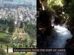 excursions from the port of haifa