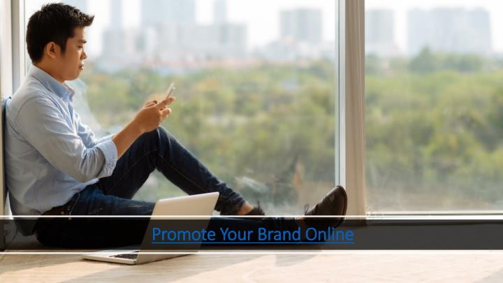 promote your brand online n.