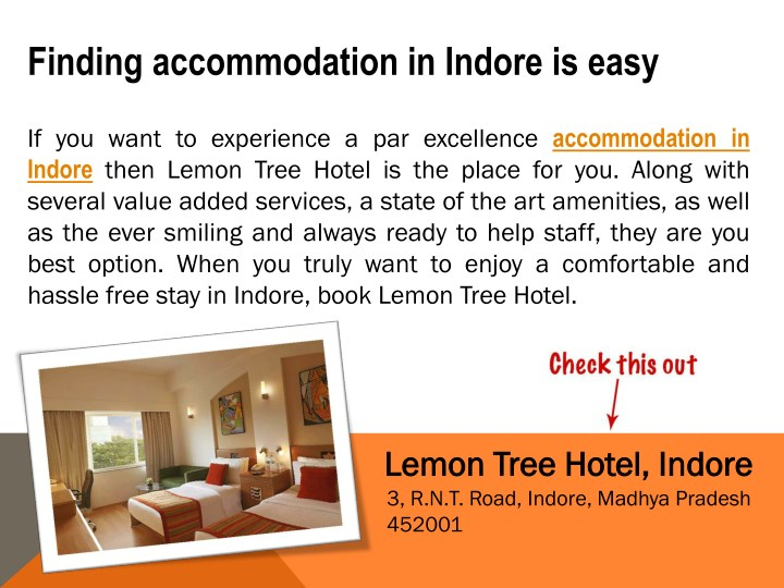 finding accommodation in indore is easy n.