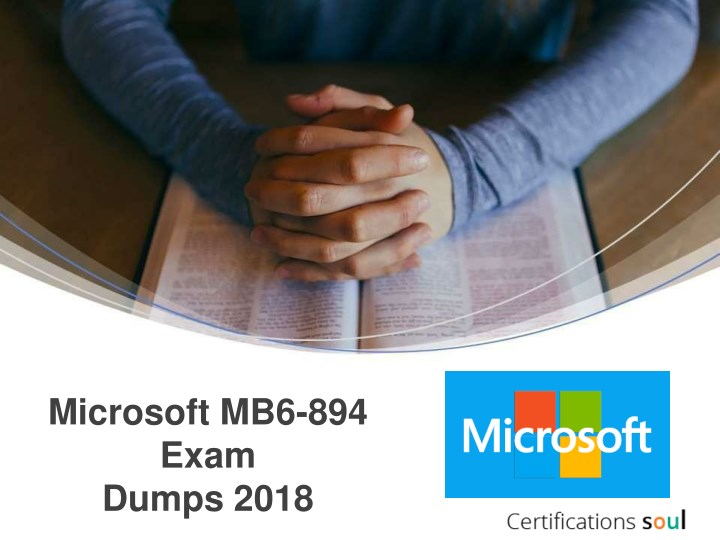 microsoft mb6 894 exam dumps 2018 n.