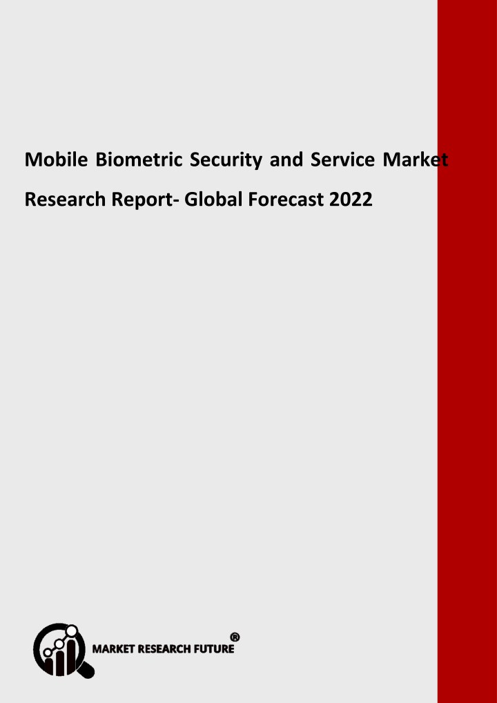 mobile biometric security and service market n.