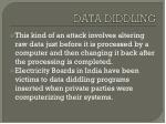 data diddling