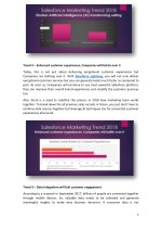 trend 2 enhanced customer experiences companies
