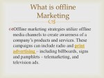 what is offline marketing