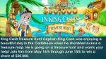 king cash treasure hunt captain king cash