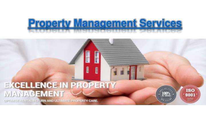 property management services n.