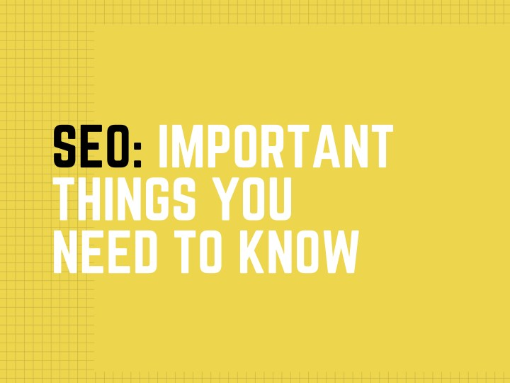 seo important things you need to know n.