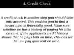4 credit check