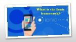 what is the ionic framework