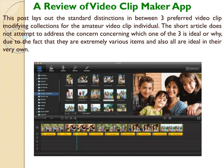 a review of video clip maker app this post lays n.