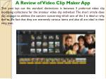 a review of video clip maker app this post lays