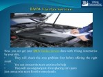 now you can get your bmw fairfax service done