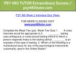 psy 480 tutor extraordinary success psy480tutor 9
