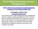 fin 571 geniu extraordinary success fin571genius 40