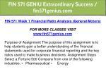 fin 571 geniu extraordinary success fin571genius 6