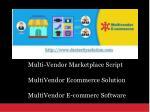 multi vendor marketplace script multivendor