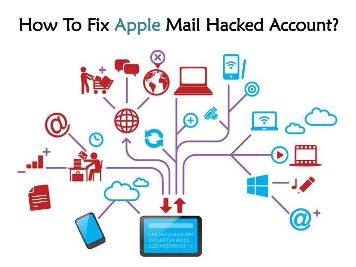 how to fix apple mail hacked account n.