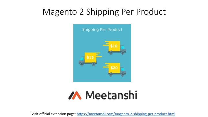 magento 2 shipping per product n.