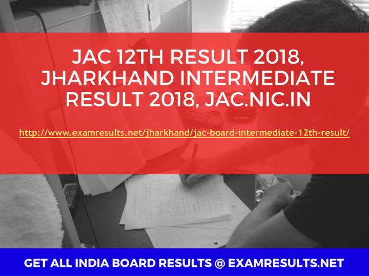 jac result 2017 jharkhand board 10th 12th results 2017 jac matric jac intermediate result n.