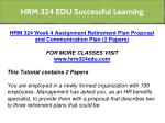 hrm 324 edu successful learning 7