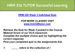 hrm 326 tutor successful learning 12