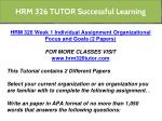 hrm 326 tutor successful learning 24