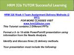 hrm 326 tutor successful learning 4
