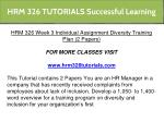 hrm 326 tutorials successful learning 14