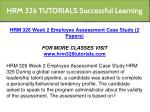hrm 326 tutorials successful learning 19