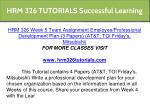 hrm 326 tutorials successful learning 2
