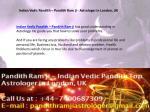 indian vedic pandith pandith ram ji astrologer 1